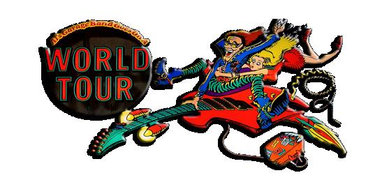 Al's Garage Band Goes On a World Tour