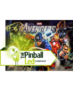 Avengers UltiFlux Playfield LED Set