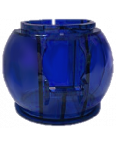 Twilight Zone Gumball Globe Blue