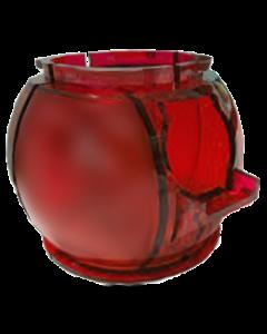 Twilight Zone Gumball Globe Red