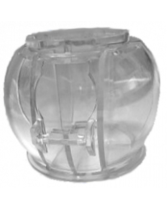 Twilight Zone Gumball Globe Clear