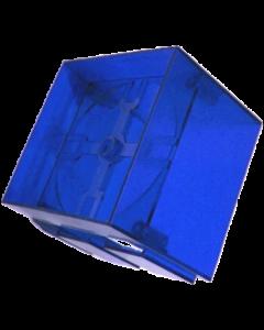 Twilight Zone Clock Housing Blue