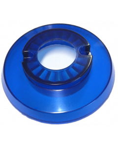 Bumper Cap With Hole Blue