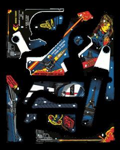Spy Hunter Plastic Set