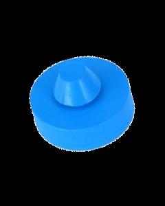 Rubber Bumper Pad Round Blue