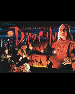 Dracula Bram Stoker's Acrylic Backglass