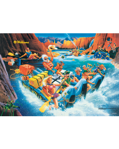 White Water 122 x 81 cm Large Poster