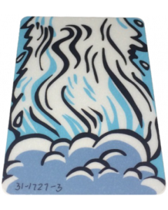 White Water Suicide Ramp Decal