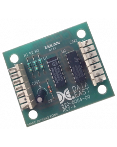 Data East Chase Light Auxiliary Board
