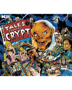 Tales from the Crypt Acrylic Backglass