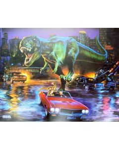 The Lost World Jurassic Park Translite