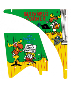 Adventures of Rocky and Bullwinkle and Friends Plastics