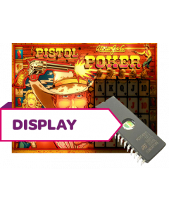 Pistol Poker Display Rom U6