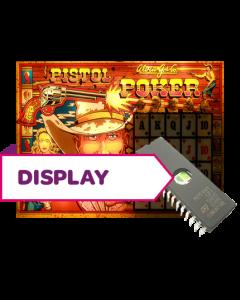 Pistol Poker Display Rom U5