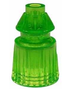"Star Post 1-1/16"" Fluorescent Green"