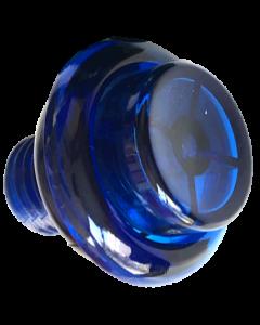 Flipper Button Transparent Blue