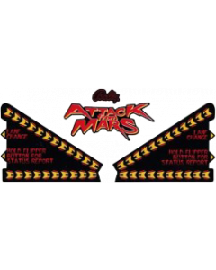 Attack from Mars Apron Decal Set