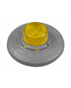 Attack from Mars Mini Saucer Yellow