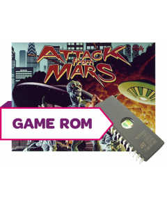 Attack from Mars CPU Game Rom