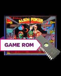 Alien Poker CPU Game Rom