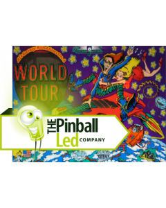 Al's Garage Band Goes On a World Tour UltiFlux Playfield LED Set