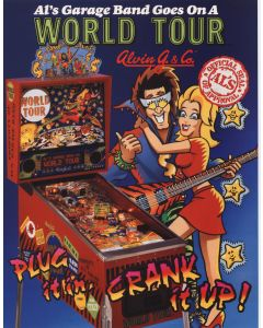Al's Garage Band Goes On a World Tour Flyer