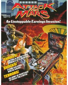 Attack from Mars Flyer