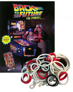 Back to the Future Rubber Set