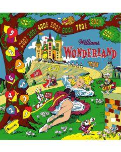 Wonderland Backglass