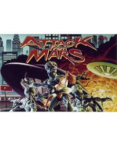 Attack from Mars Mini Translite