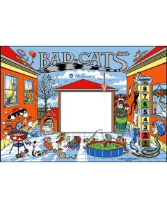 Bad Cats Backglass