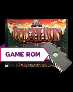 Banzai Run CPU Game Rom Set (Proto)