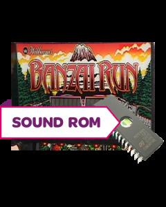 Banzai Run Sound Rom U21