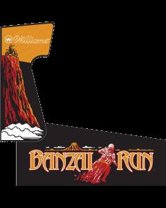 Banzai Run Cabinet Stencil Kit