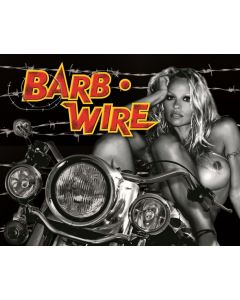 Barb Wire Alternate Translite (NSFW)