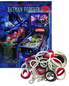 Batman Forever Rubber Set