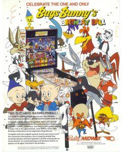 Bugs Bunny's Birthday Ball Flyer