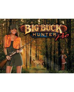 Big Buck Hunter Alternate Translite 1