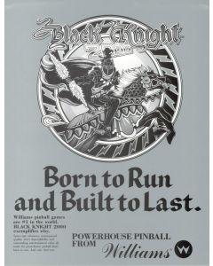 Black Knight 2000 Flyer