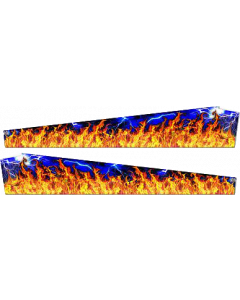 Metallica PinBlades Flames