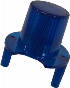 Jet Bumper Dome With Legs Blue