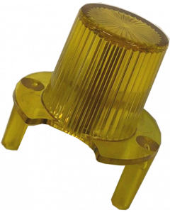 Jet Bumper Dome With Legs Yellow