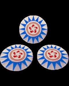 Harlem Globetrotters Bumper Cap Set