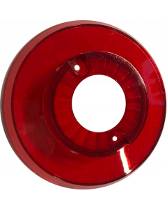 Bumper Cap With Hole Red