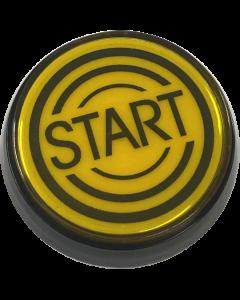 Data East Start Button Yellow