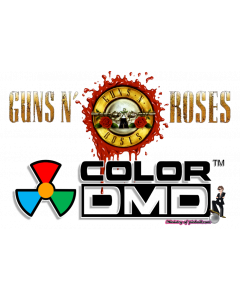 Guns N' Roses ColorDMD