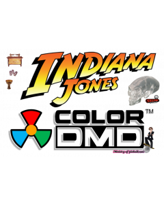 Indiana Jones (Stern) ColorDMD