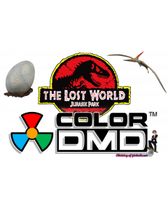 The Lost World Jurassic Park ColorDMD
