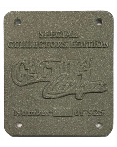 Cactus Canyon Collectors Plate 21-6721