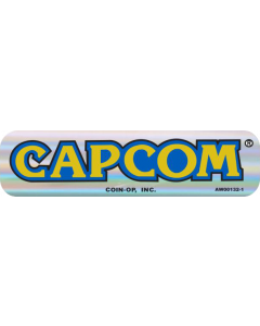Capcom Door Decal